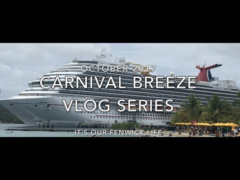 Carnival Breeze Cruise Vlog 13   Goodbye Belize Hello Roatan!