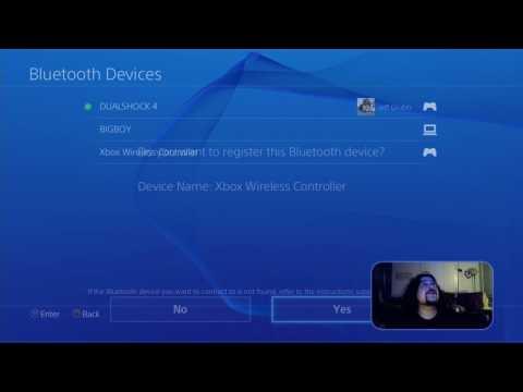 Геймпад от Xbox One S можно подключить к Playstation 4