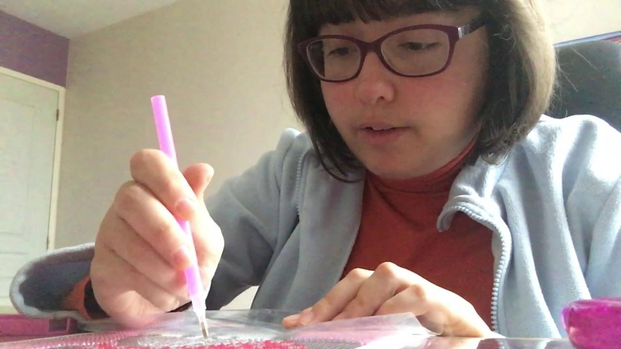 Diamond Painting Minnie De Chez Action Youtube