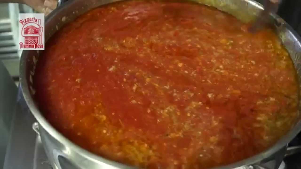 Como se hace la auténtica salsa Boloñesa Italiana - YouTube