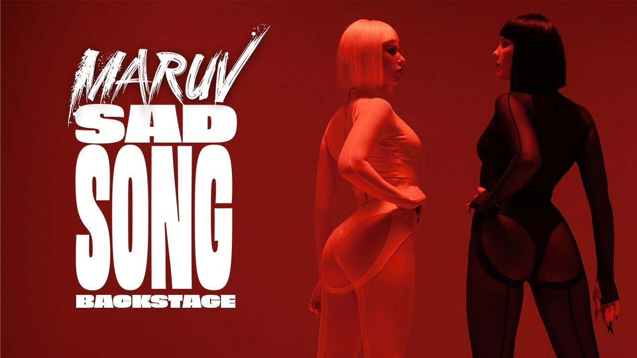 Как снимали Maruv - Sad Song | Backstage