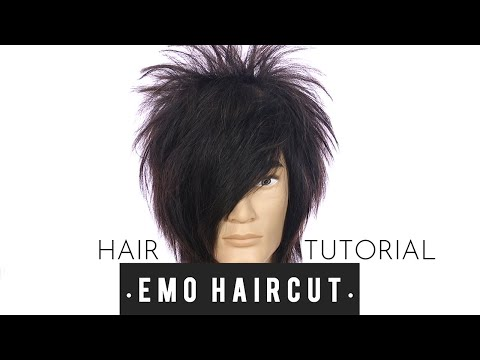 Emo Haircut Tutorial – TheSalonGuy