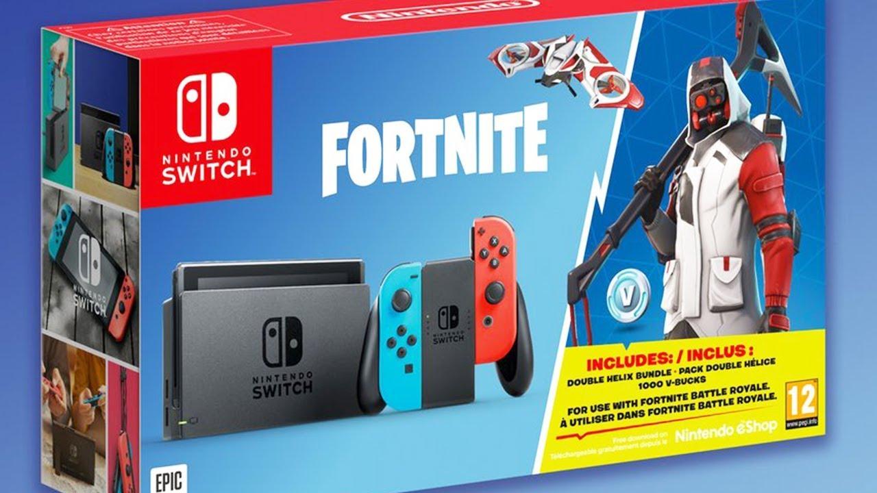 Fortnite Nintendo Switch Bundle Kommt Gratis Skin Set 1000 V
