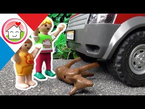 Playmobil en français Accident avec une bête sauvage - La famille Hauser