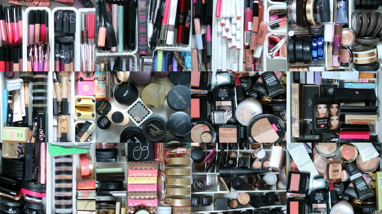 Makeup Collection And Storage 2016 Youtube