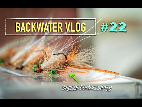 Belize Bonefish Fly: BACKWATER VLOG #22