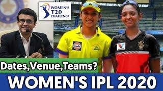 Women's IPL 2020 - Dates, Venues, Teams, Schedule || Women's IPL 2020 Latest Updates
