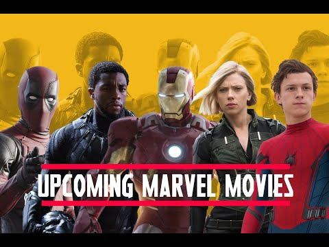 All Upcoming Marvel Movies 2019 to 2022