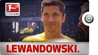 Robert lewandowski's best moments at dortmund