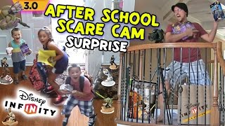 Disney Infinity 3.0 AFTER SCHOOL SCARE CAM SURPRISE!  Dad