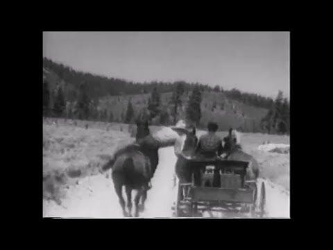 "Failed Stunt Used In John Wayne Western ""The Trail Beyond"" (1934)"