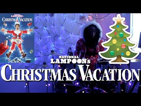 Mavis Staples - Christmas Vacation (National Lampoon's Christmas Vacation Theme Song) DRUM COVER