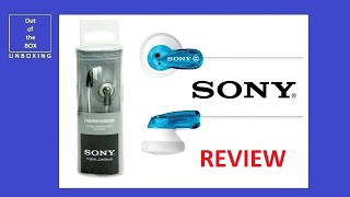 Sony MDR-E9LP Earbud Headphones REVIEW (Discontinued by Manufacturer, black, grey, pink ect)