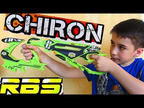 RBS Chiron Rubber Band Gun with Robert-Andre!