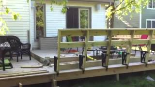 Deck Bench Build