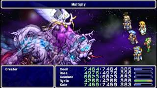 Final Fantasy IV - The After Years - Final Boss + Ending + Credits PSP - HD