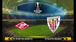 Spartak Moskva vs Athletic Bilbao | UEFA Europa League 2018 | PES 2018 Gameplay HD