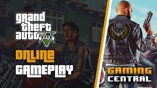 GTA V Online Heists | Livestream | Gaming Central