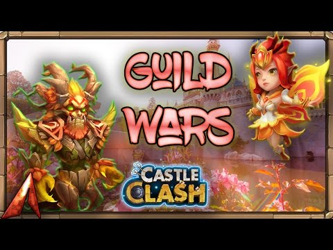 Smurf Guild Wars Run! OH MAAAAAN! Castle Clash