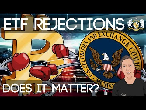 Various Bitcoin ETF's Rejected... | Does It Really Matter?