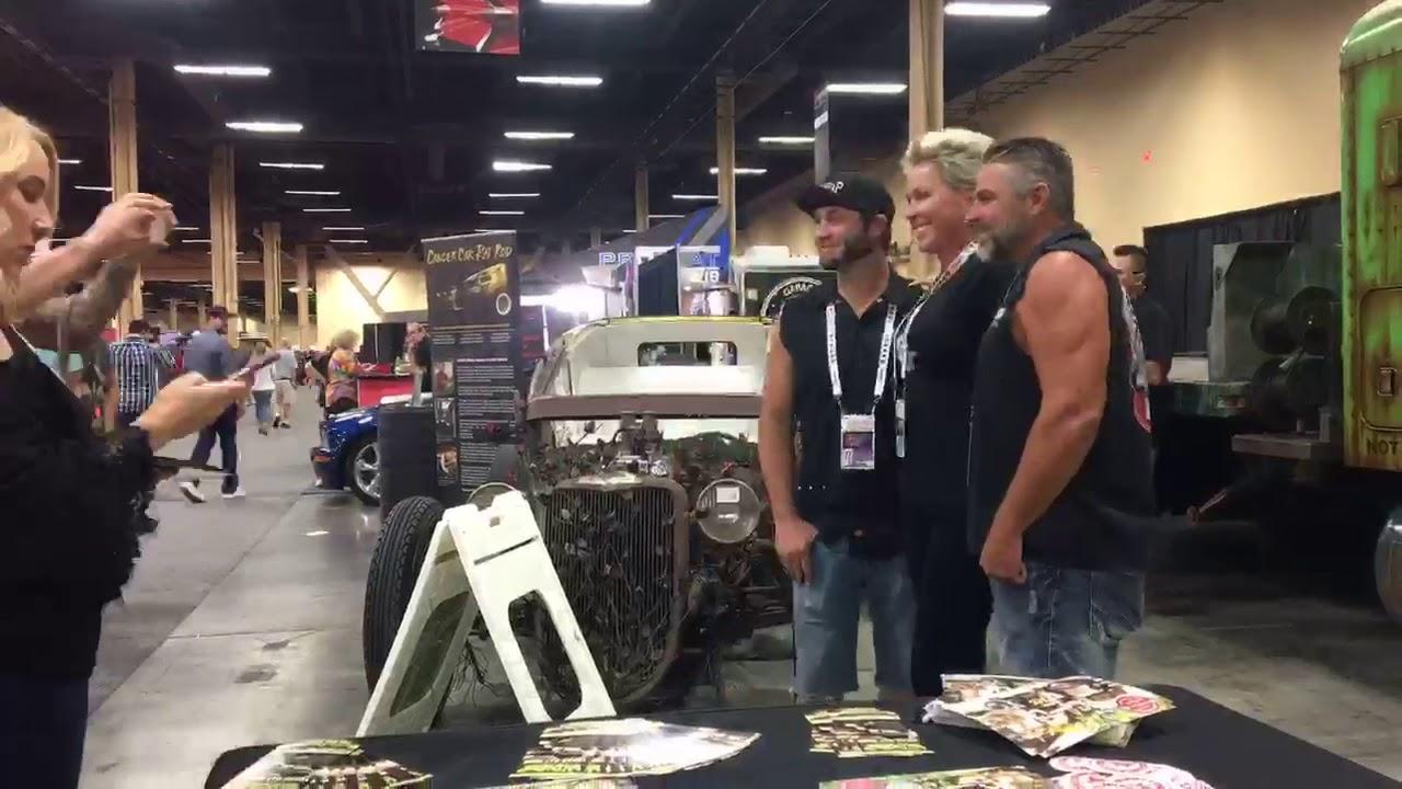 Line Up For WelderUp Cancer Car At BarrettJackson Las Vegas YouTube - Barrett jackson car show las vegas
