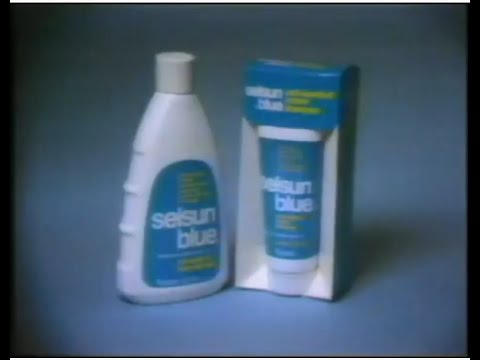 Selsun Blue Shampoo Commercial (1976)