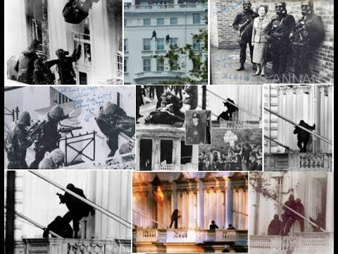 The Iranian Embassy Siege In 1980 - The Start of Military & Police Ops