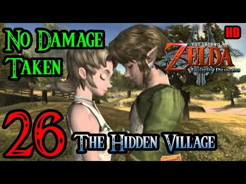 Zelda Twilight Princess Wii 100% Walkthrough 1080p HD Part 26 - The Hidden Village - Illia's Memory