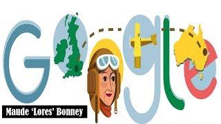 Maude 'Lores' Bonney Google Doodle