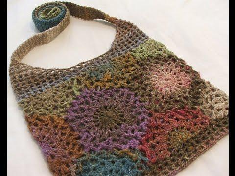 Patrones de bolsos tejidos a crochet youtube - Como hacer bolsos tejidos ...