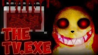 TheTV.EXE (Bad & Good Ending) | Scarier Pokemon Horror Game Ever??!