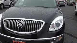 2008 Buick Enclave CXL SUV Black for sale used Dayton Troy Piqua Sidney Ohio | CP13641T