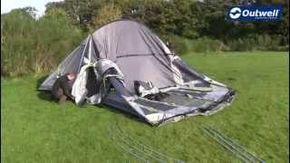 Outwell Montana 6P Tent Pitching Video |  Innovative Family Camping