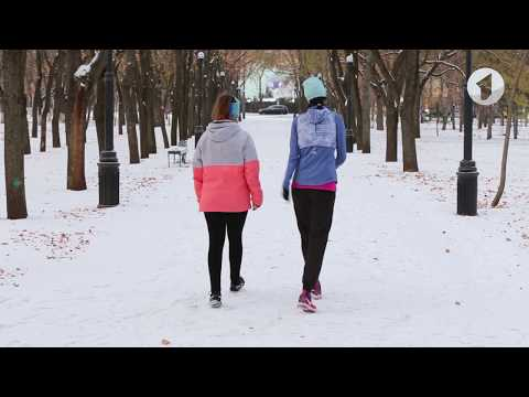 Спорт-ревю / Мастер-класс. Как правильно бегать зимой? - Смотреть видео без ограничений