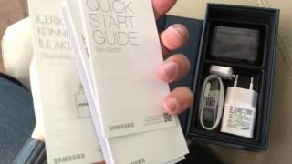 Samsung Galaxy S7 edge Kutusundan Çıkıyor -  Galaxy S7 edge Unboxing