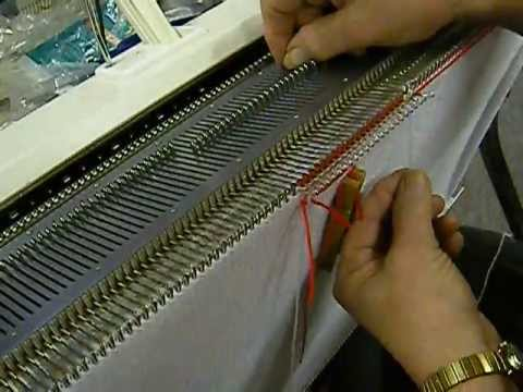 Wrapping an Isolated Fairisle Motif on the Knitting Machine ...