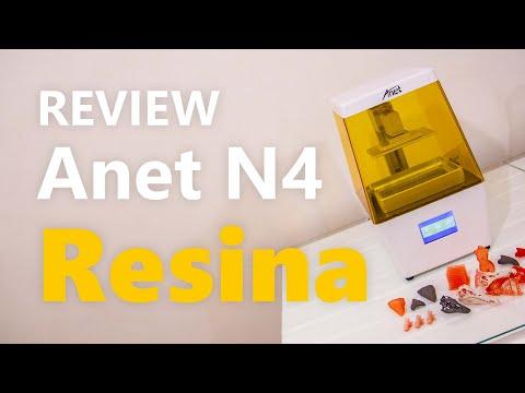 Recensione Anet N4, stampante 3D DLP a resina con qualità pazzesca