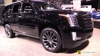 2019 Cadillac Escalade Sport Edition - Exterior and Interior Walkaround - 2019 NY Auto Show