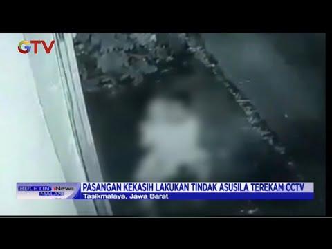 Pasangan Mesum Lakukan Tindak Asusila Di Atas Motor, Kaget Setelah Terekam CCTV - BIM 26/01