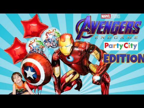 Party City AVENGERS Endgame BALLOON SHOPPING 2019 - Limited Edition Gift With Any Marvel Purchase