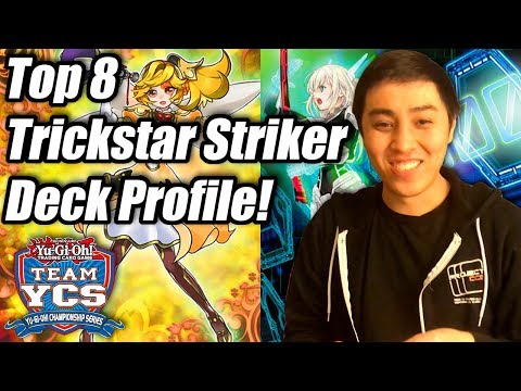 Yu-Gi-Oh! YCS Atlanta Top 8 Trickstar Sky Striker Deck Profile! ft. Dennis Pham-Le!