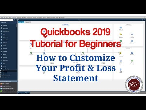 quickbooks-2019-tutorial-for-beginners---how-to-customize-your-profit-&-loss-statement