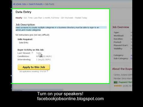 how to apply for a job in odesk pt 6 how to submit your cover letter in odesk - Cover Letter For Odesk Job Application
