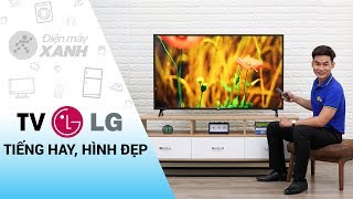 Tivi LG 4K: sinh ra dành cho bóng đá (55UK6100PTA) | Điện máy XANH