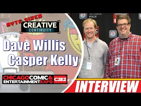 Dave Willis & Casper Kelly animators; Aqua Teen Hunger Force, Too Many Cooks  Creative Continuity