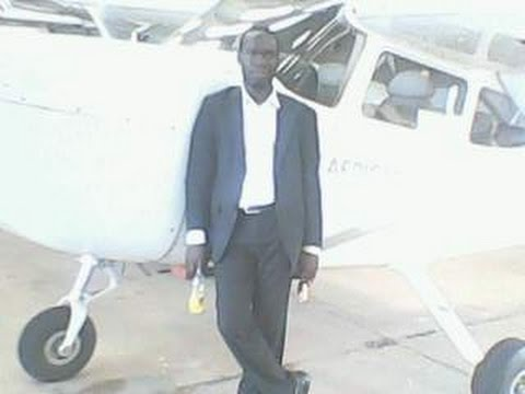 President Kivumbi on Private Jet in Uganda Air Space
