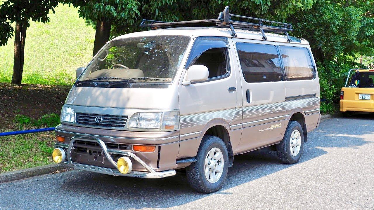 1993 Toyota Hiace 3.0 Turbo Diesel 4WD (USA Import) Japan