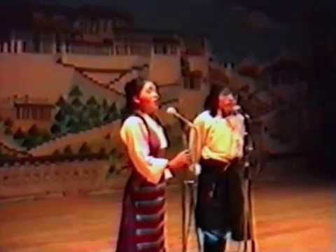 Tibetan Institute of Performing Arts Yarkhyi 27th. May 1992
