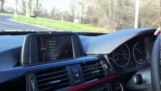 BMW F30 320d test drive in England