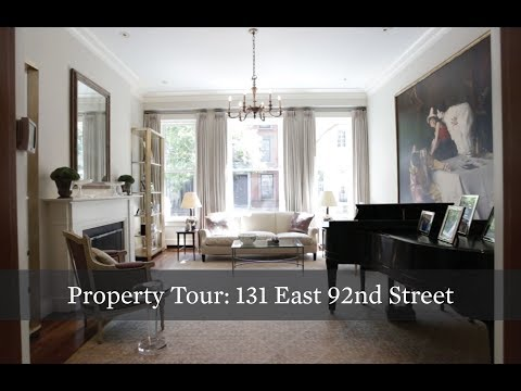 Property Tour: Historic Carnegie Hill Townhouse at 131 E 92nd St